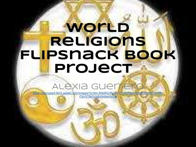 World Religions Flipsnack Book