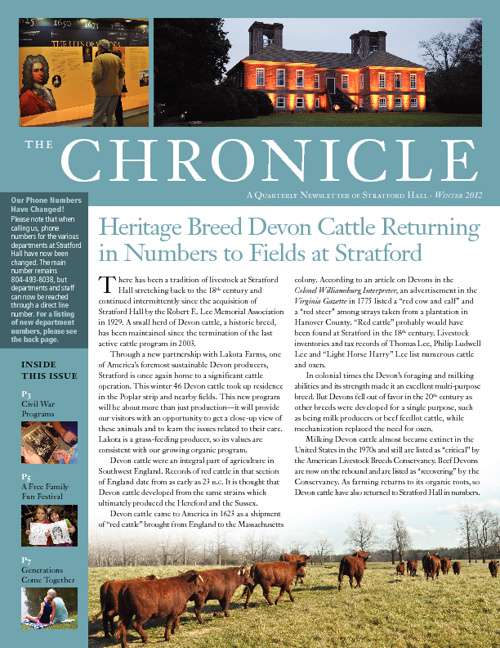 The Chronicle Winter 2012