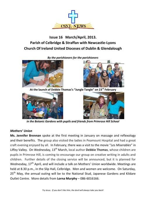 Copy of CSNL Newsletter