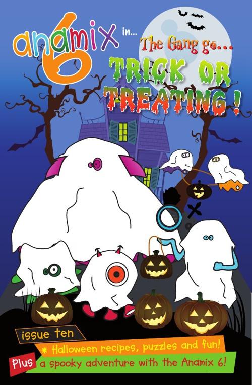Anamix 6 Comic 10 Halloween Trick or Treating