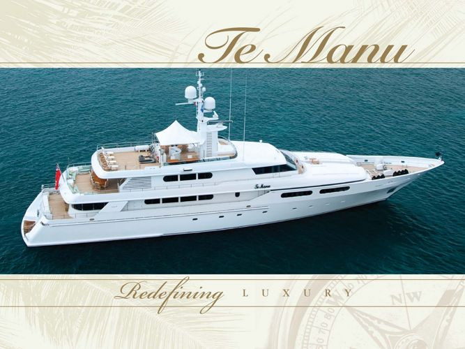 TE MANU Brochure - 49m Codecasa superyacht for charter