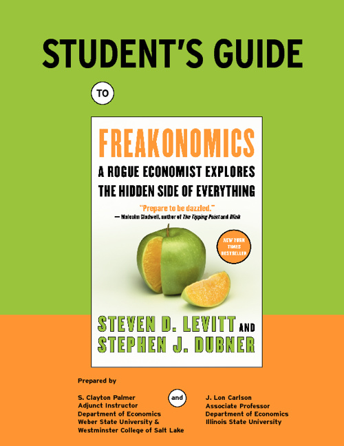 Student Study Guide & Freakonomics Book!