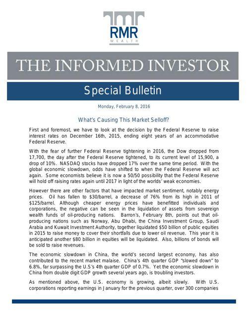 special bulletin 2.8