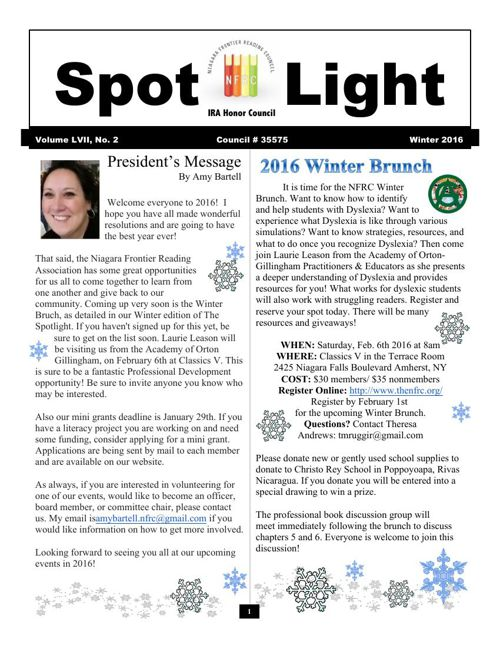 Spotlight Winter 2016