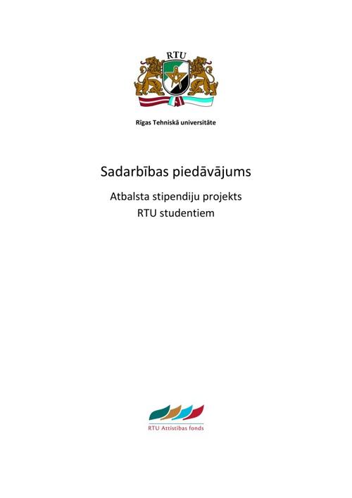 Stipendiju projekti