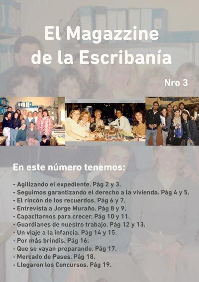 El Magazzine de la Escribanía. Nro. 3