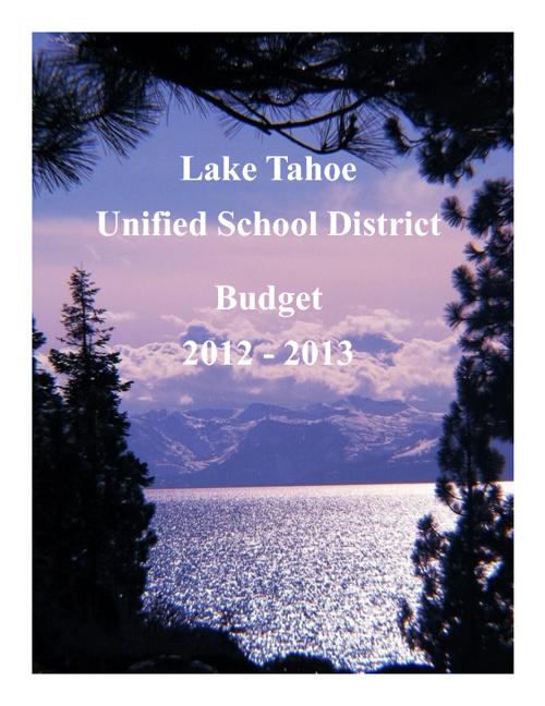 2012-2013 LTUSD Budget