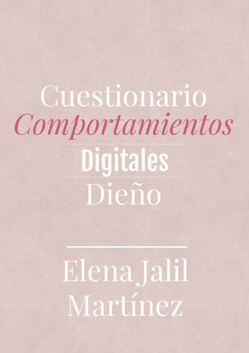 Comportamiento digitales