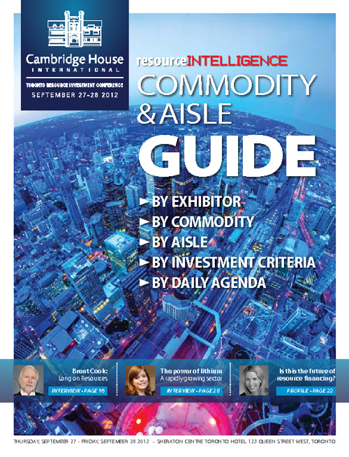 TRIC Commodity & Aisle Guide Sept 2012