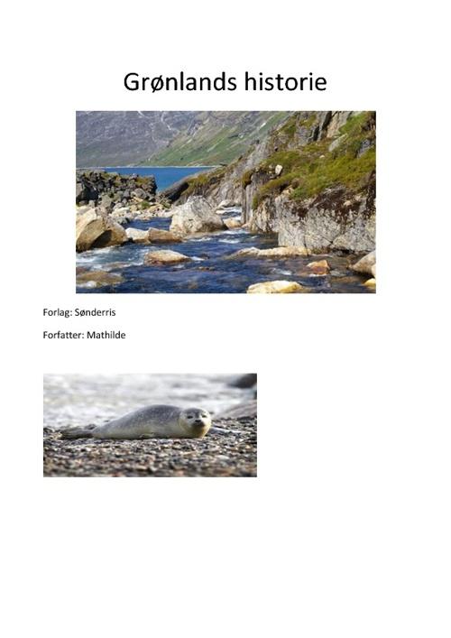 grølands historie