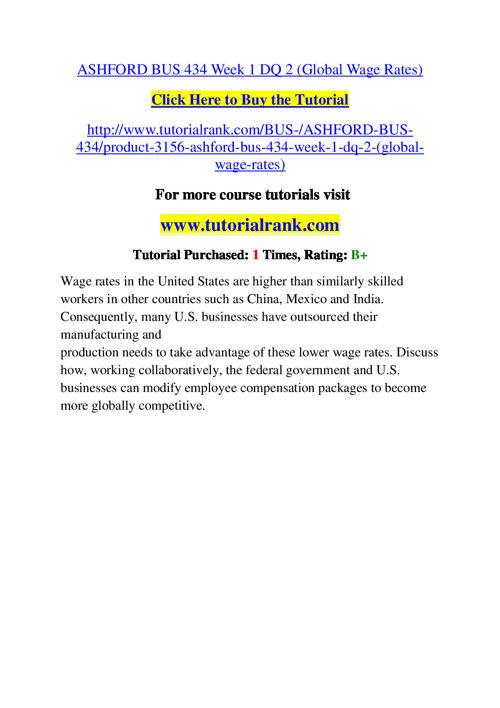 BUS 434 Slingshot Academy / Tutorialrank.Com