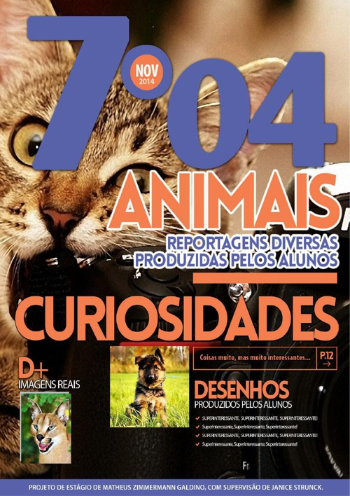 Animais - 7º ano - Revista Digital