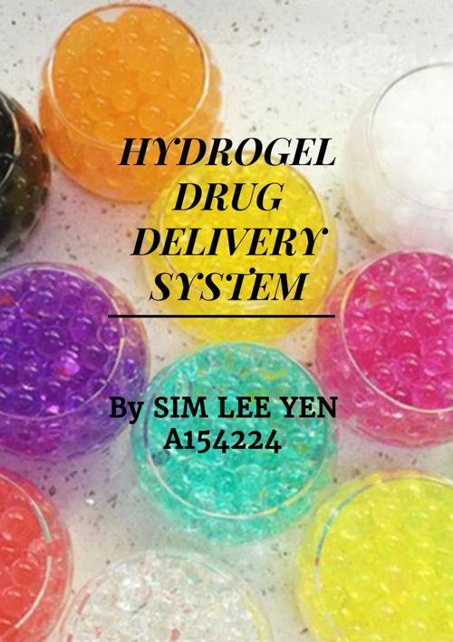 HYDROGEL DRUG DELIVERY