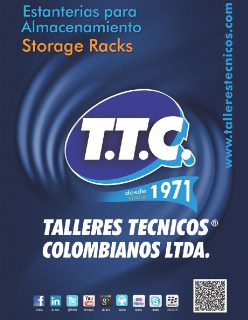 ESTANTERIAS PARA ALMACENAMIENTO / STORAGE RACKS / TTC