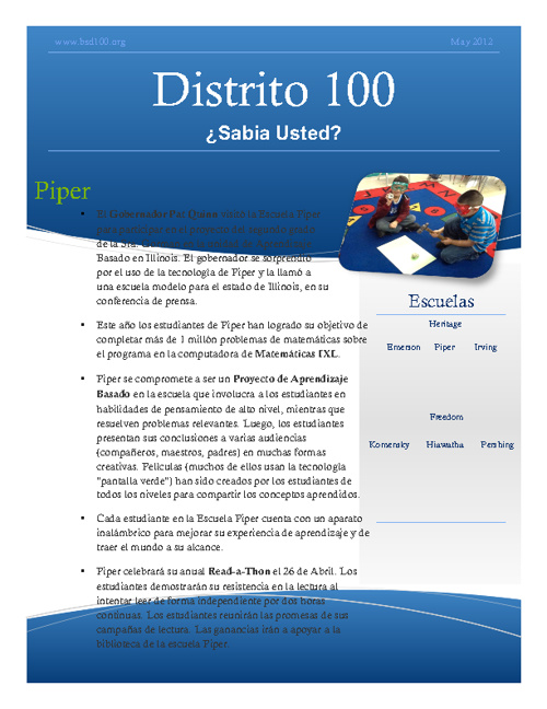 D100 - May 2012 DYK Spanish