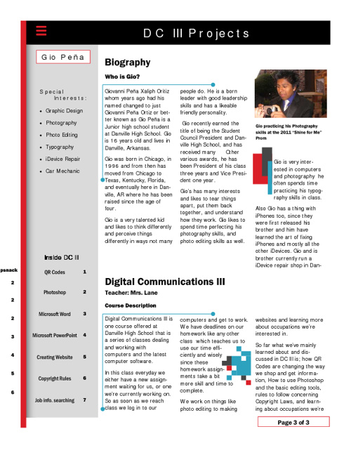 FlipSnack Newsletter DC III