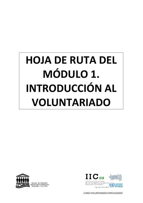 cve HOJA DE RUTA DEL MÓDULO 1