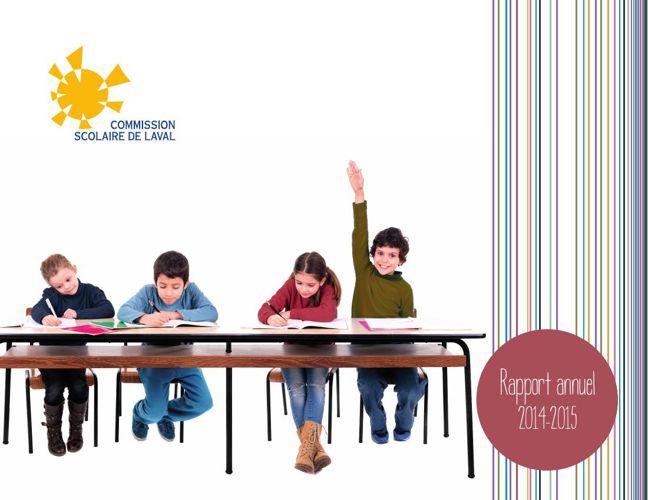 Rapport annuel de la Commission scolaire de Laval 2014-2015