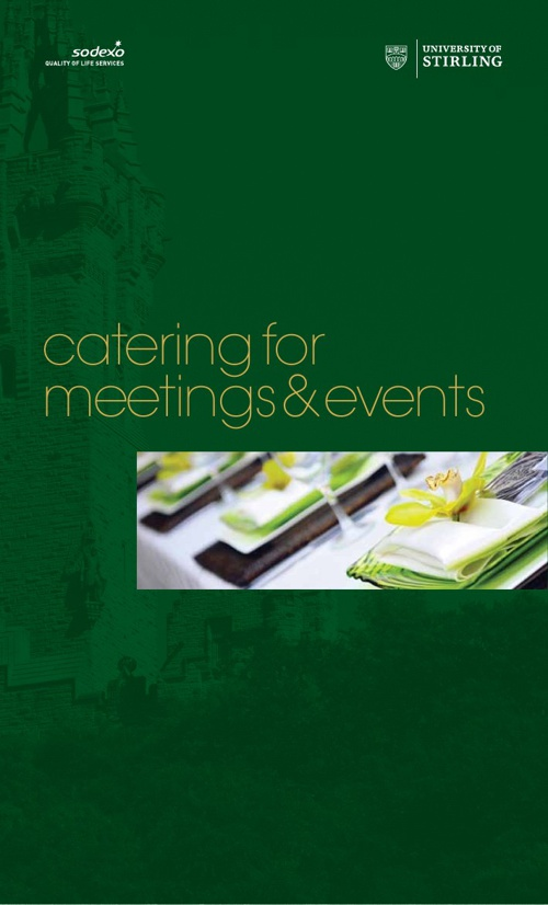 University of Stirling Hospitality Nov13