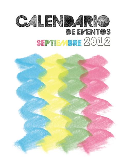 Calendario Septiembre 2012 Proturismo