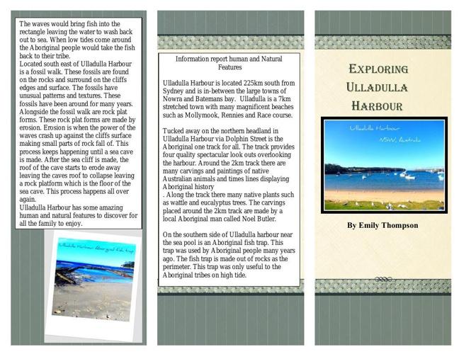 ulladulla harbour brochure part 1