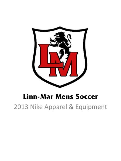 2013 LM Mens Soccer Apparel Catalog