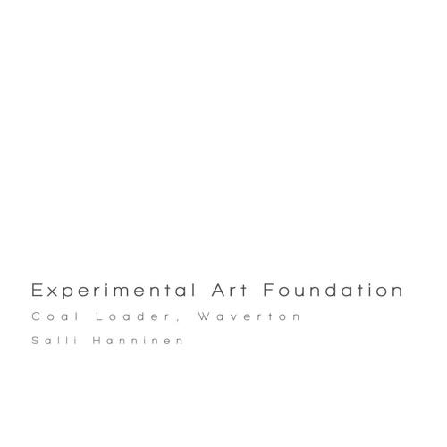EXPERIMENTAL ART FOUNDATION - SALLI HANNINEN