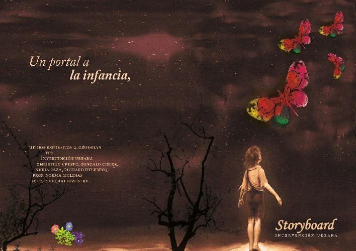 Story Board  Un portal a la infancia