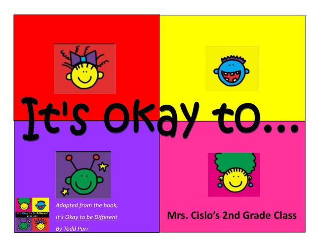 Its ok to...Cislo
