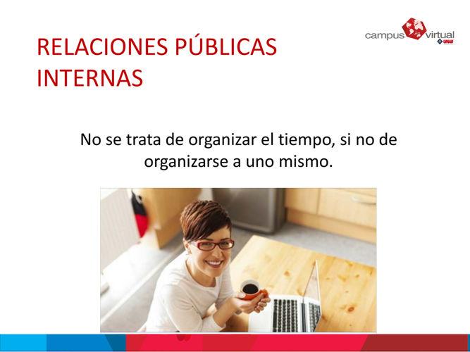 Tema 3: relaciones públicas internas