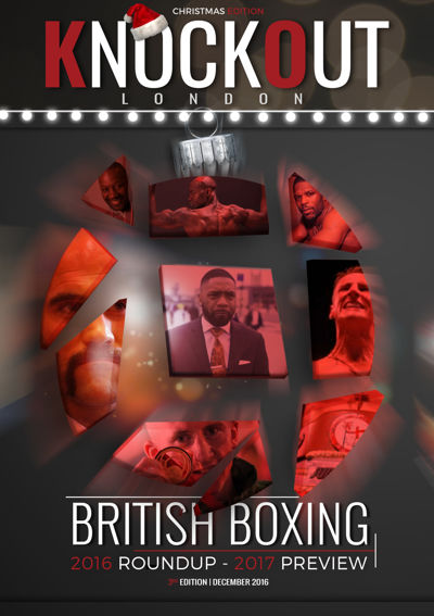 KnockOut London Magazine 3 - 2016 British Boxing Round Up