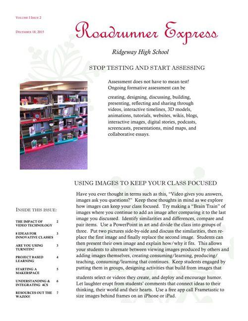 Roadrunner Express Volume I Issue II
