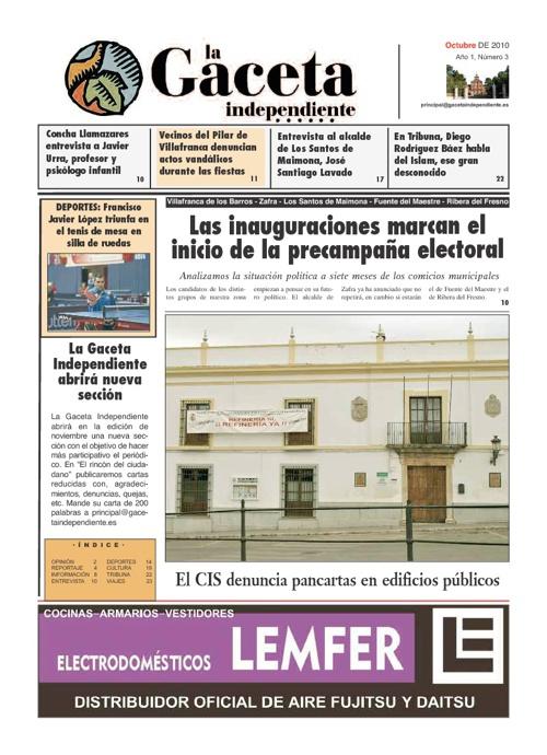La Gaceta Independiente Nº 03 2010