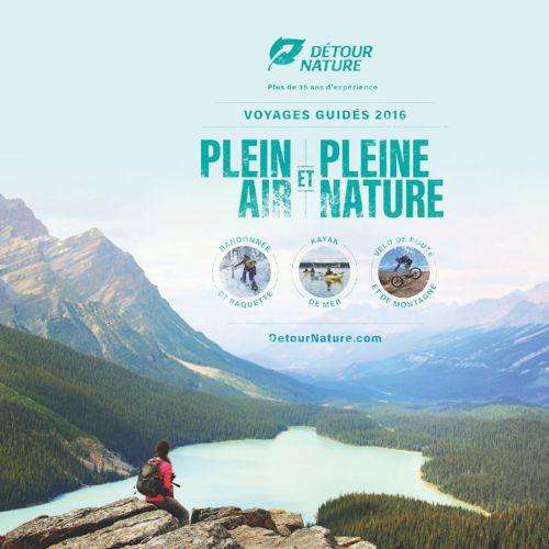 Detour Nature Brochure 2016