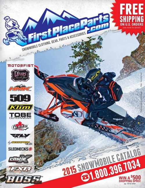 First Place Parts 2015 Snowmobile Catalog