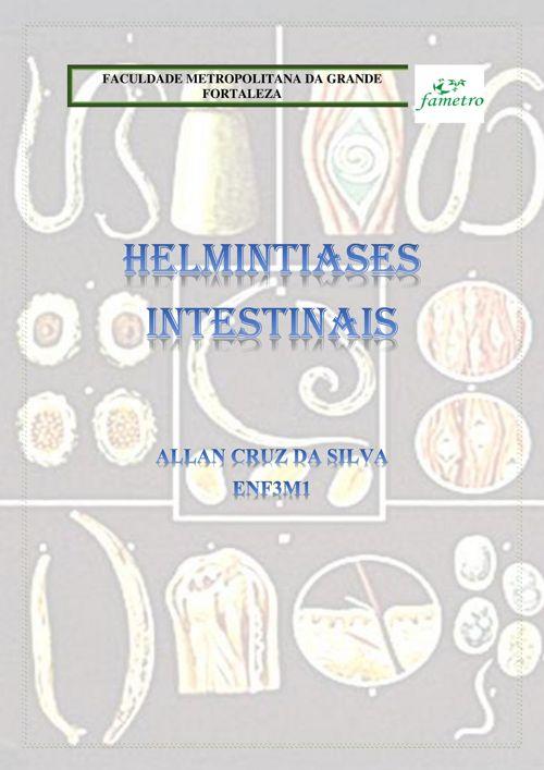 HELMINTIASES INTESTINAIS - Allan Cruz