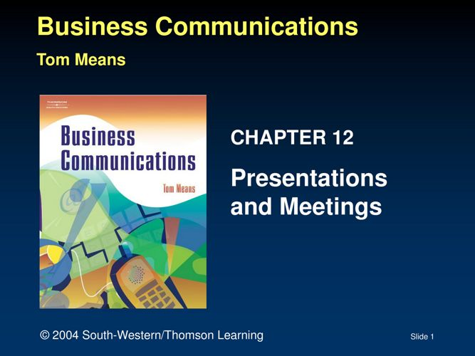 BCS Presentation Skills - Anderson-Matthews-Skogman