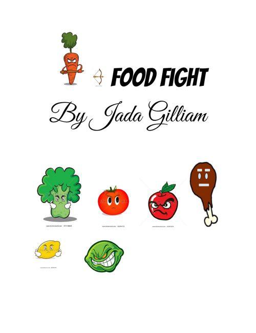 Food Fight Jada Gilliam