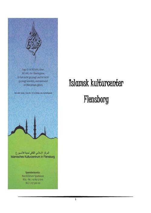 Islamisches Kulturzentrum in Flensburg dansk