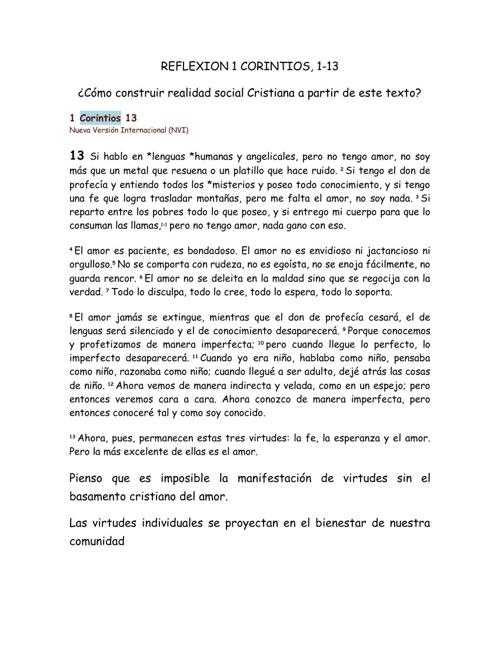 corintios 1-13