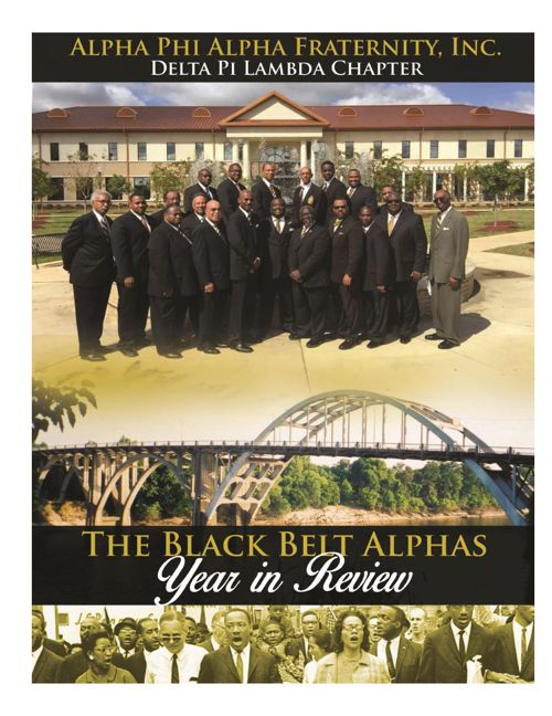 Alpha Phi Alpha Alumni Chapter of the Year Submission 2015