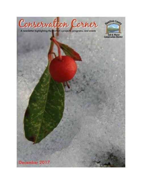 December Conservation Corner