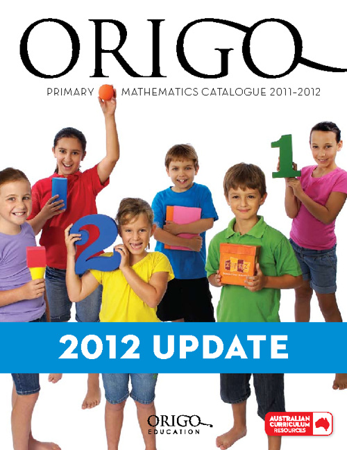 ORIGO Education Australia Catalogue 2012