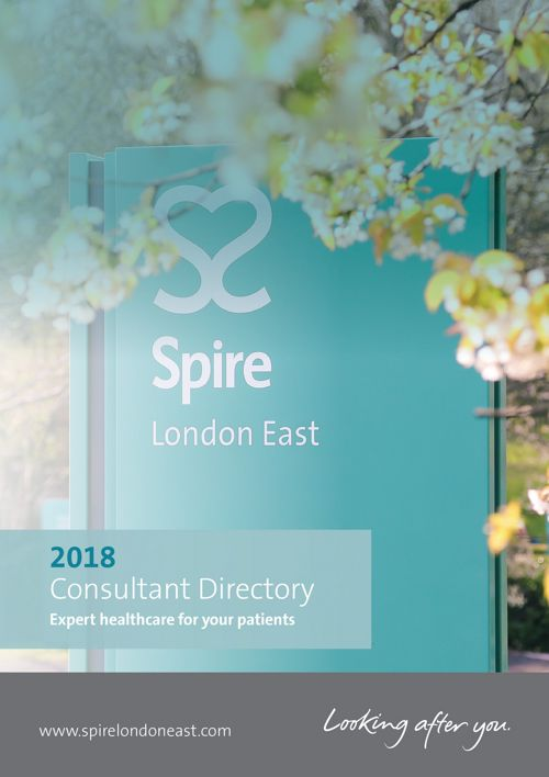 Spire London East 2018n Consultant Directory
