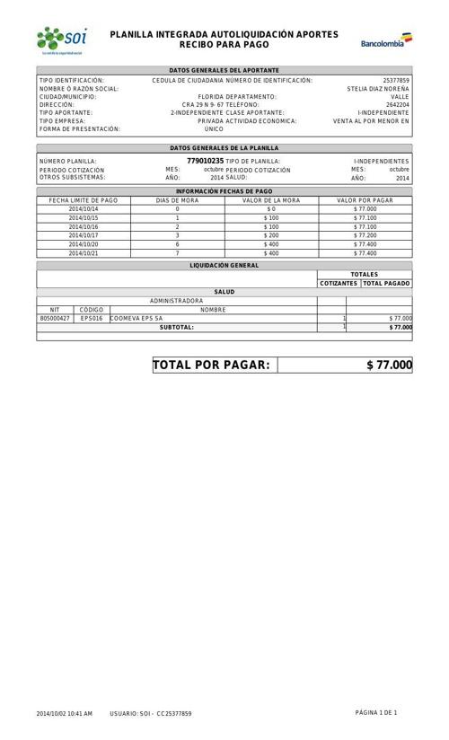 ReciboParaPago.779010235