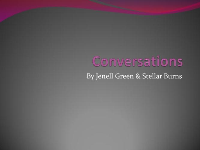 My Conversations