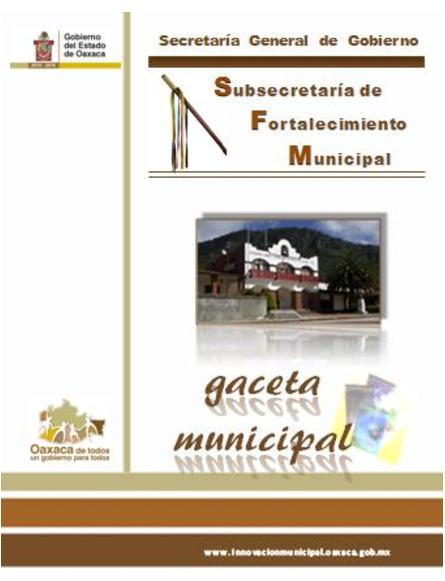 Innovación Municipal | Gaceta