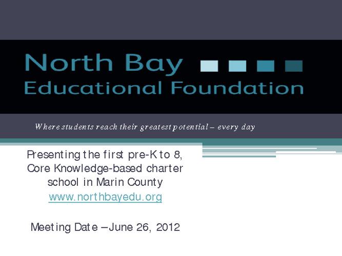 June 26th Meeting PowerPoint