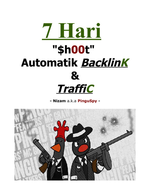 7 Hari Shoot Automatic Backlink & Traffic