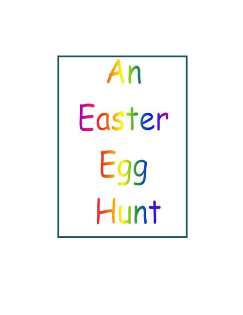 An Easter Egg Hunt and a bird named Jerry